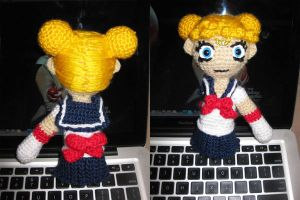 my amigurumi sailor moon by nikianime