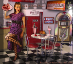 Rock-a-Billy Diner by MisssBarbie