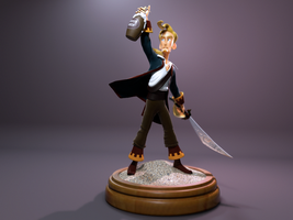 Guybrush Threepwood by futhermucker
