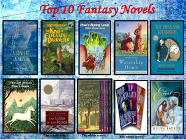 My Top 10 Fantasy novels by J-Cat