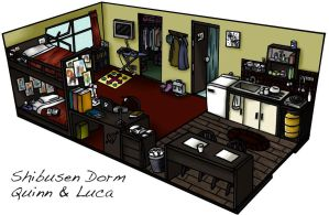 L4- Dorm Sweet Dorm by CrimsonKanji