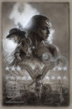WonderWoman BWcompweb by Jeffherndraw