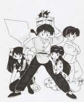 ranma 1/2 by HeartlessHollow07