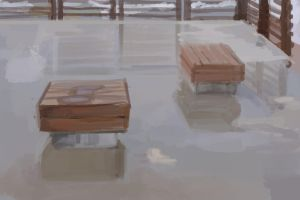 ARMADA139: Waterlogged Benches by Hamsta180