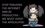 SPN: do your work, abomination by Curenio