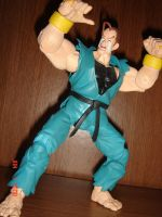 Street Fighter Dan Figure by kilp007