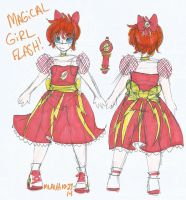 !~Magical Girl Flash~! by MissShell666