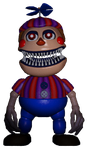 Nightmare Balloon Boy render by RoxasXIIkeys