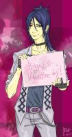 Mukuro Rokudo at Valentine day by Diyriko