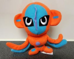Deoxys mini Pokedoll by Gallade007