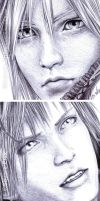 FFVII - Faces Details in Pen 3 by Washu-M