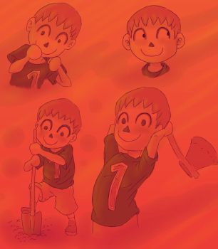 Villager - Sketches by Shynox
