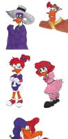 Darkwing Duck sketchdump by TwilightKeyblade928