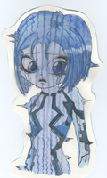 My second Cortana drawing -.- by SweetyXenomorph
