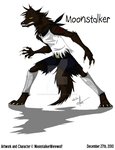 Werewolf Moonstalker MS Paint by MoonstalkerWerewolf