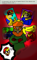 Smash Ask #6: Falcons swirling around my head by the-slinky-kid
