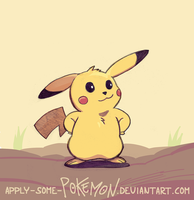 Pokemon Gen1 - Pikachu by apply-some-pokemon