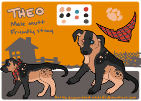 Theo Ref Sheet Commission by zigan-with-felines