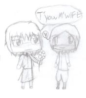 A Flower To M'Wife Sketch by Table-Sama