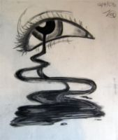 Charcoal Abstract 02 by guardian-of-moon