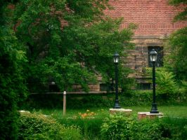 bell tower courtyard by evangeline40003