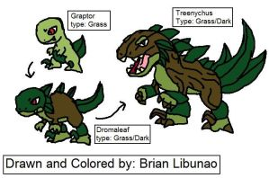 Fakemon: Grass Starter by Brian12