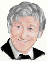 Jon Pertwee from Spearhead From Space by The-Tinidril