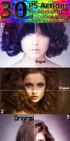 30 Photoshop Actions by hmtopu