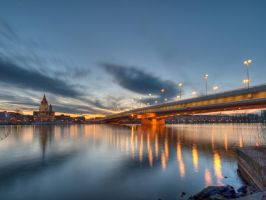 Donauinsel I by Stansen