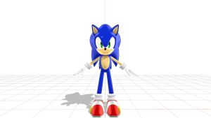 (MMD):SD Sonic The Hedgdehog Final (no completed) by Modern-Sonic