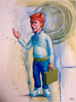 George Jetson, Man of the Future by pencilcasserole
