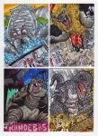 2012 Kaiju Kards Set 2 by fbwash
