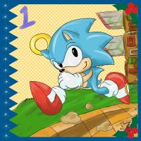 Sonic Advent Calendar: 1st by Feniiku