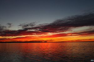 Fall Sunset Series #102 by LifeThroughALens84