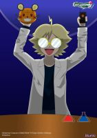 PKMN V - Mad Scientist Clemont by Blue90