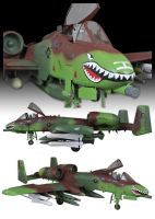 A10 Thunderbolt by FarawayPictures