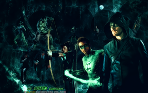 THE GREEN GUARDIANS by CSuk-1T