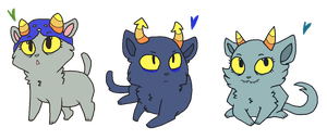 Catstuck - Kittens by PONYPUKE