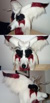 Fayd Kitsune Head by Fursuit