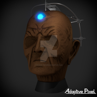 Welcome to my new face, Doctor. Weekend Challenge4 by Davros-the-2nd