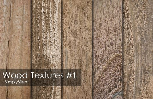 Wood Textures #1 by SimplySilent