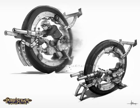 PURE STEAM - Gyro Cycle by 47ness