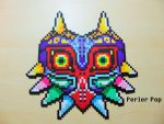 Majora's Mask Perler by Perler-Pop