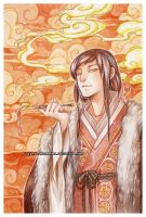 Smoke -watercolors- by auroreblackcat