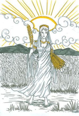 Demeter Greek Mythology