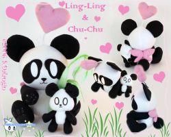 Ling-Ling and Chu-Chu Chao by BriteWingz