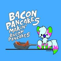 Bacon Pancakes by MusicForRush