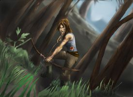 THOMB RAIDER LARA CROFT REBORN:CONTEST ENTRY by Sabrerine911
