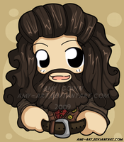 Hagrid - Harry Potter by amy-art