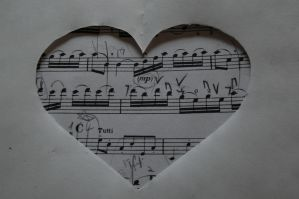 Music Heart by invisibleperson0o